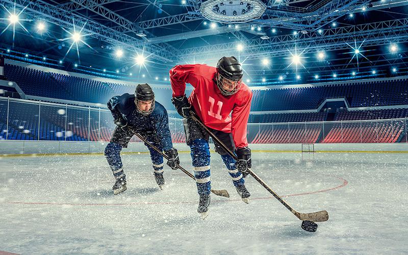 изменение хоккейной формы